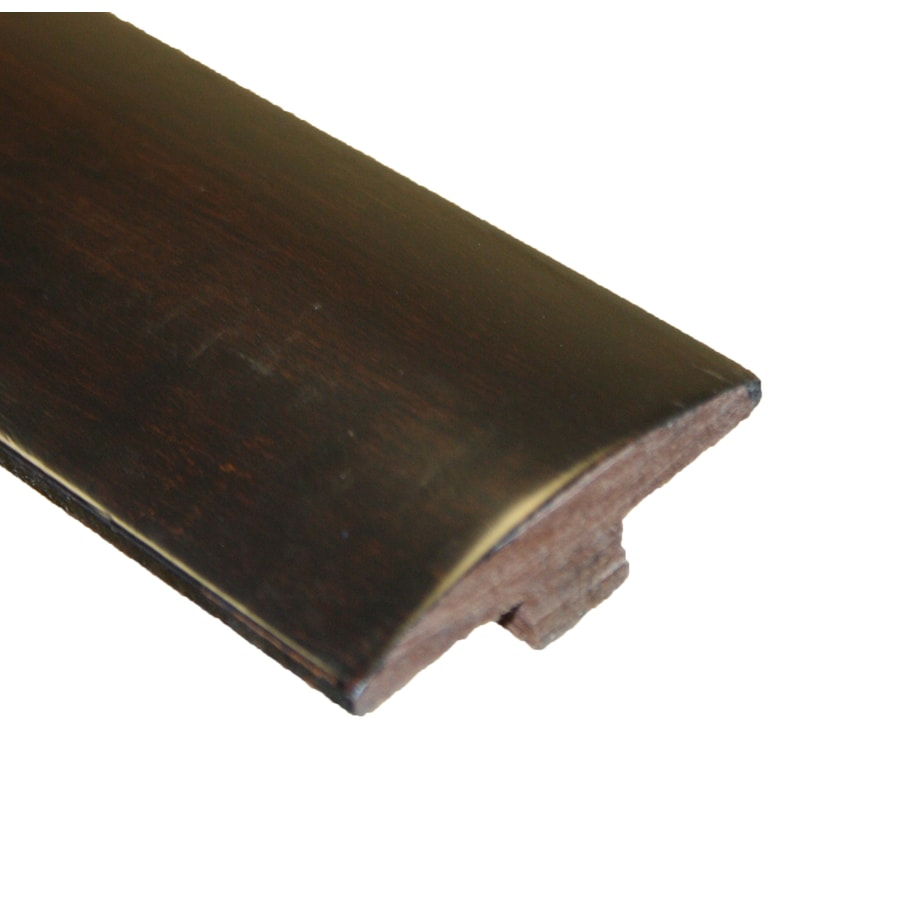 easoon 2-in x 78-in Brown/Black T-Floor Moulding
