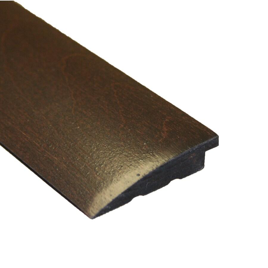 easoon 2.13-in x 78-in Brown/Black Reducer Floor Moulding