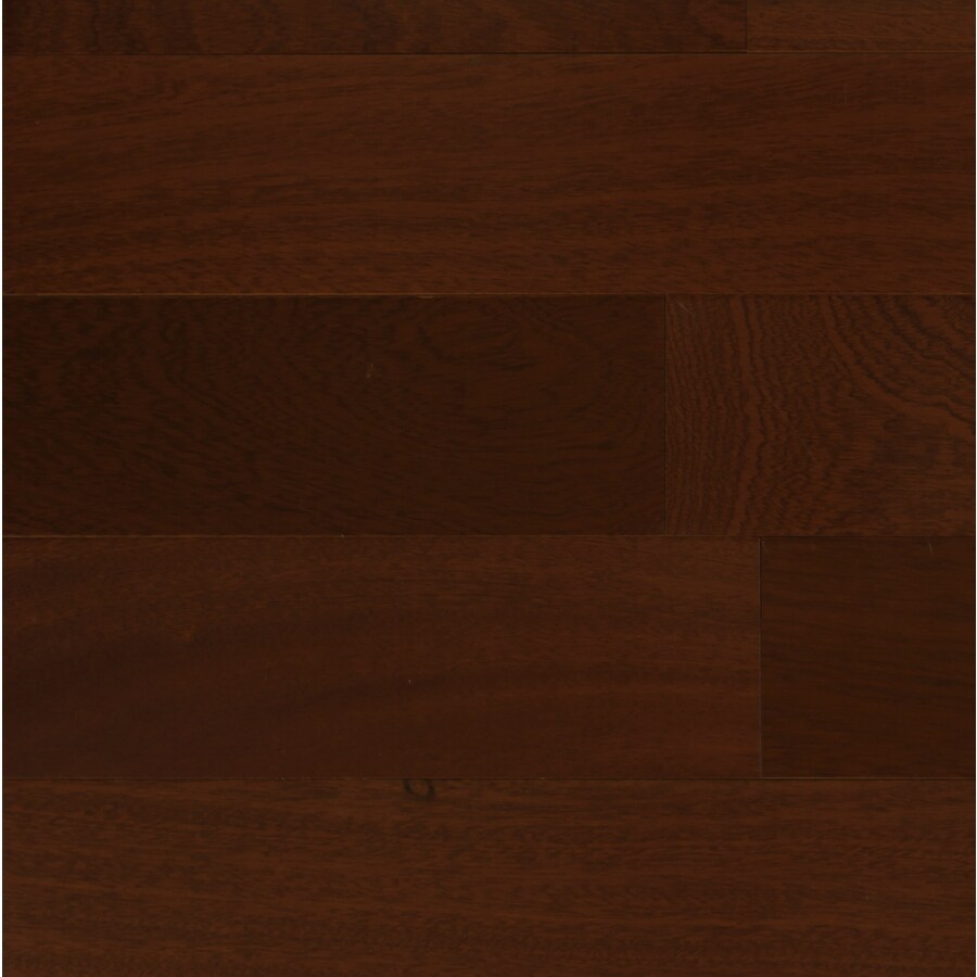 Contemporary 3-5/8-in W x 48-in L Sapelle Locking Hardwood Flooring