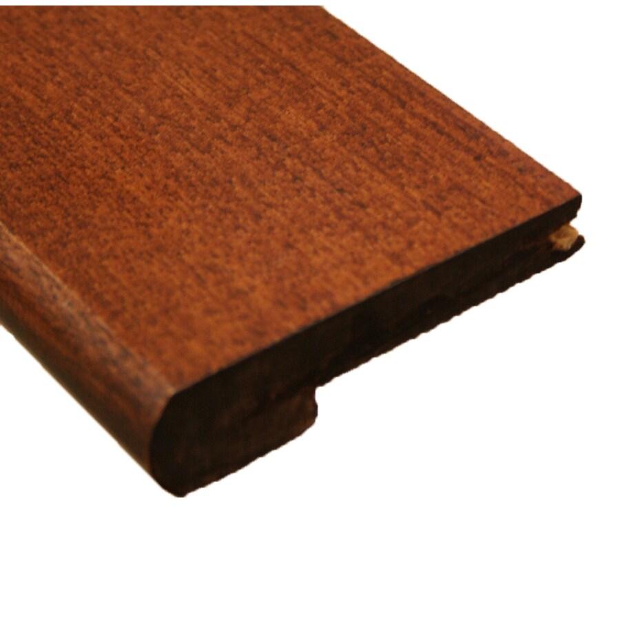 easoon 3.13-in x 72-in Brown/Tan Stair Nose Floor Moulding