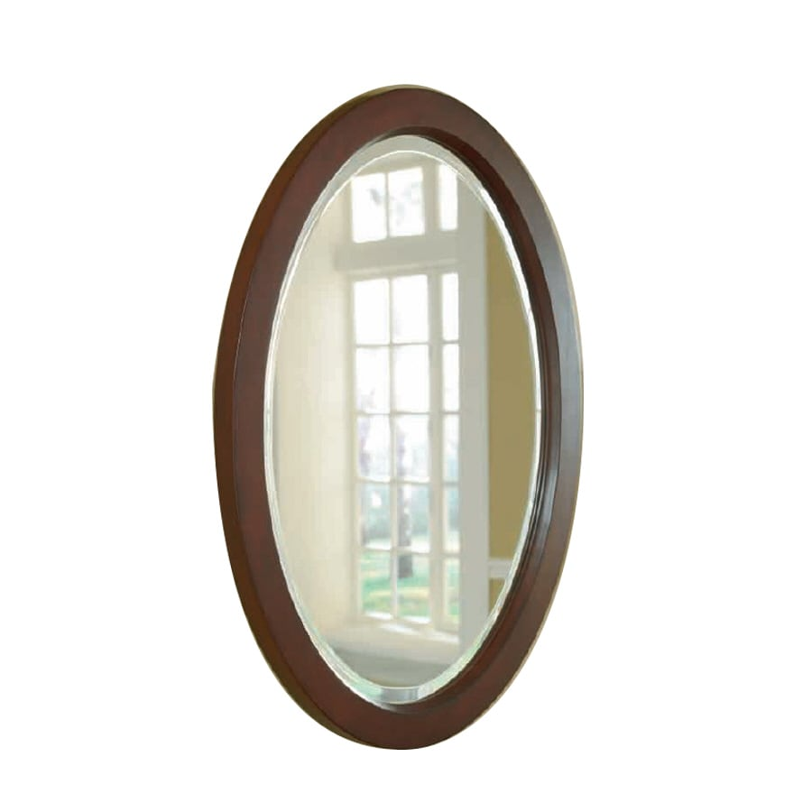 allen + roth 23-in W x 30-in H Bathroom Mirror
