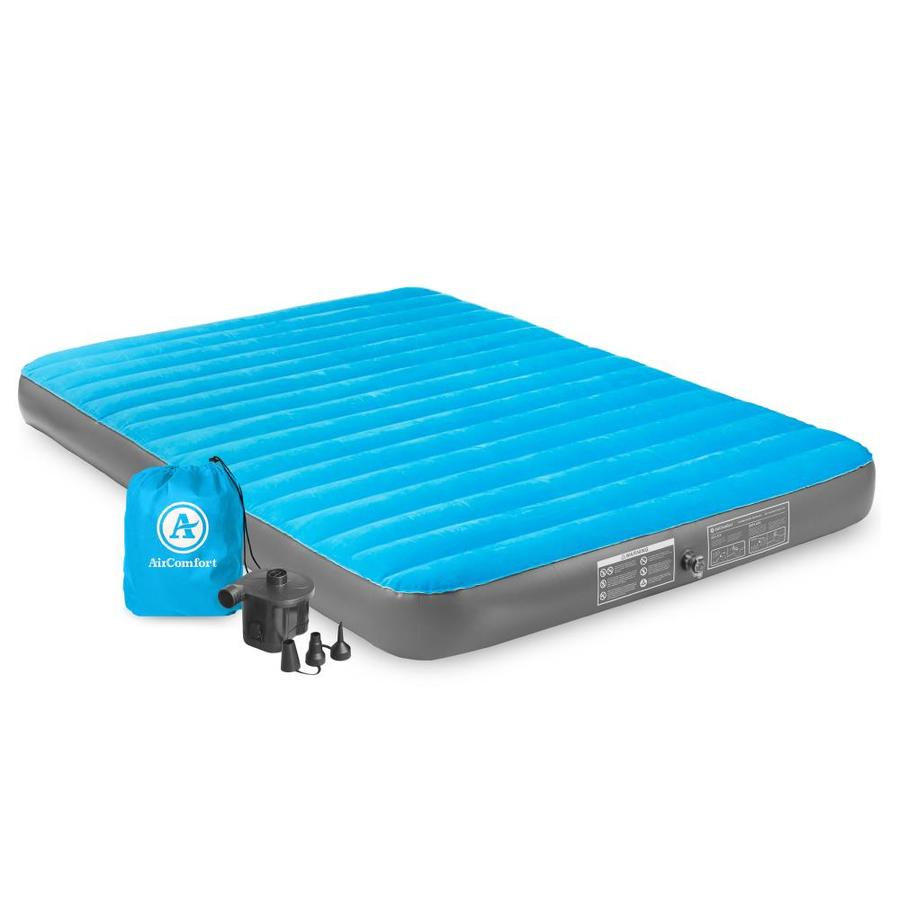 Camp Active 3 Litre Foot Pump Inflatable Camping Air Bed Garden Swimming Pool