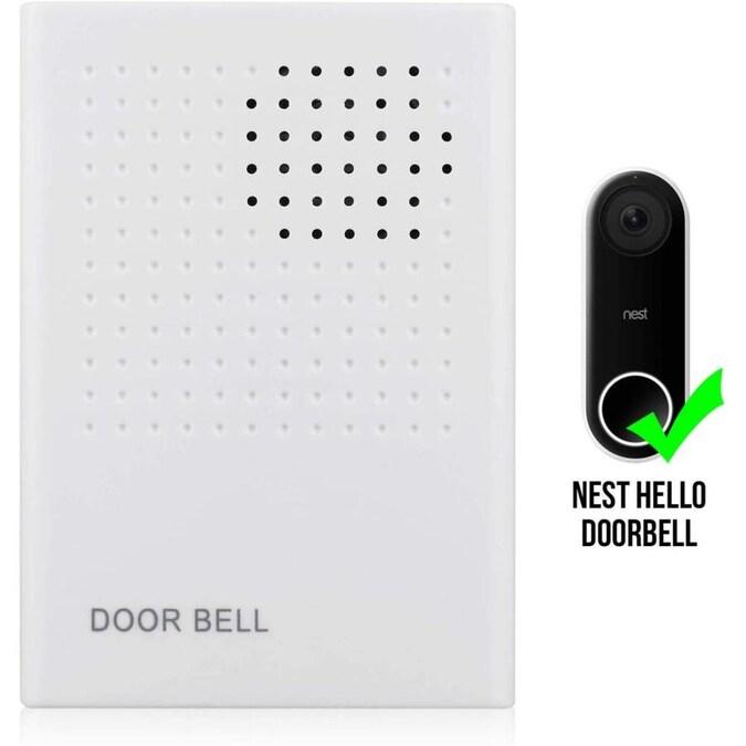 Wasserstein Doorbell Chime for Nest Hello Video Doorbell
