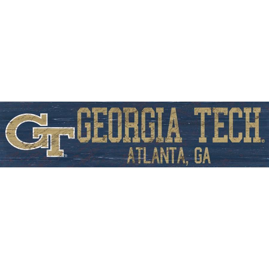 Fan Creations NCAA Georgia Southern Eagles Unisex Georgia Tech MOM Sign 6 x 12 Team Color