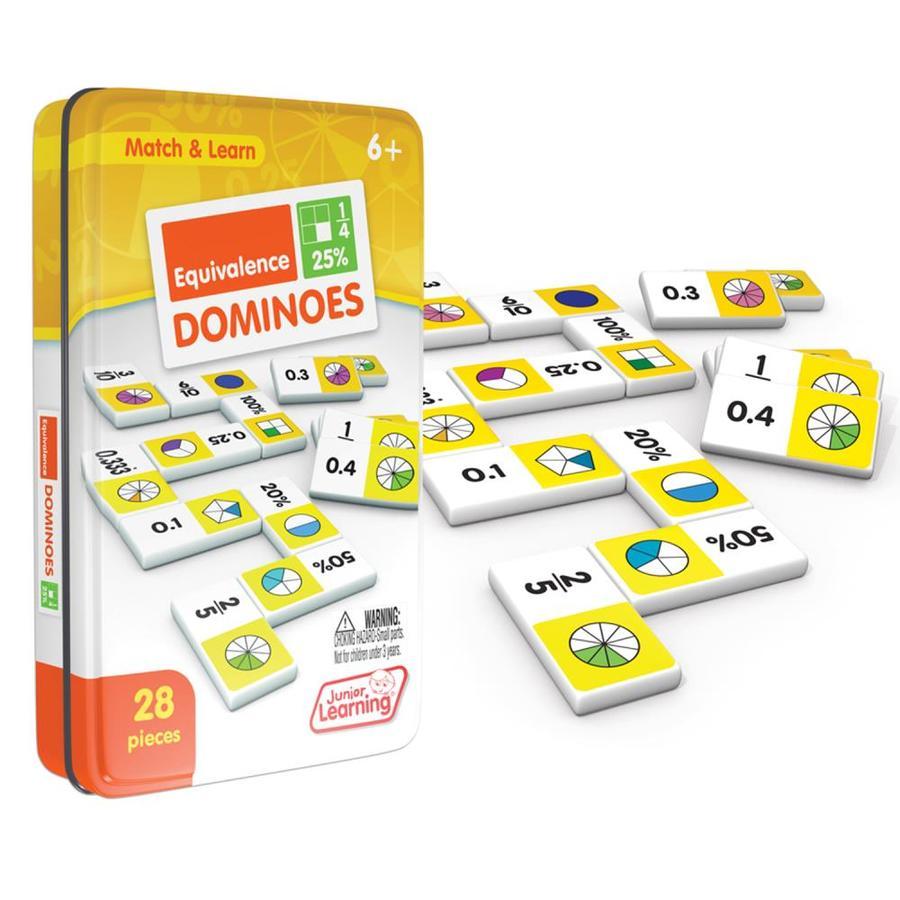 JL497 Junior Learning Algebra Dominoes Game