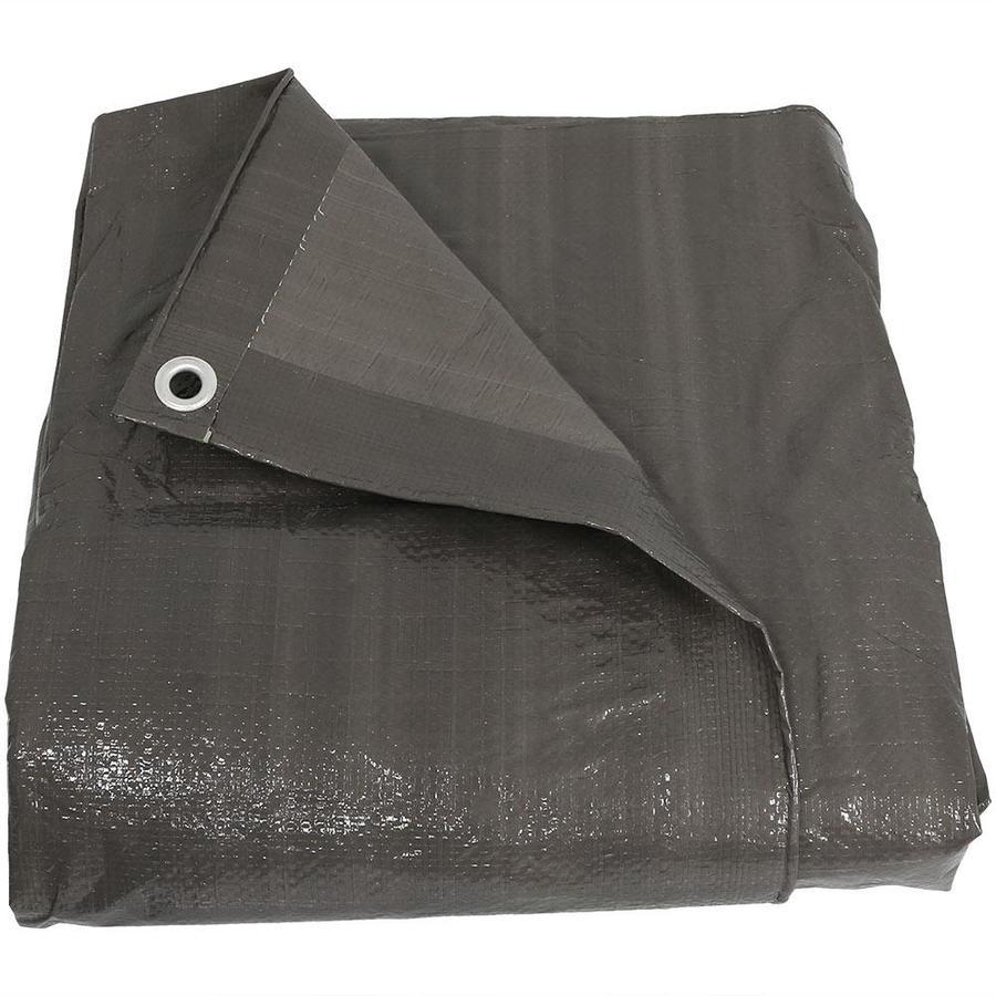 Sunnydaze Decor 30-ft x 40-ft Gray Standard Polyethylene Tarp in the Tarps  department at Lowes.com