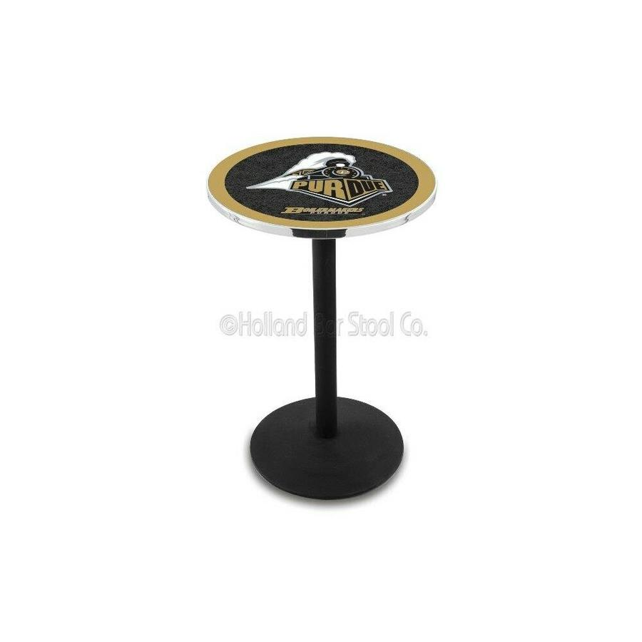 L214-42 Chrome Purdue Pub Table Holland Bar Stool Co