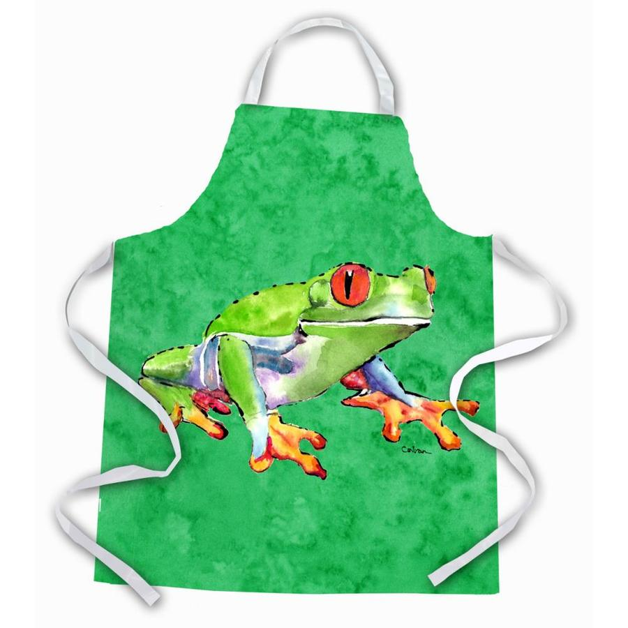 Caroline S Treasures Frog Apron In The Cooking Apparel Department At Lowes Com