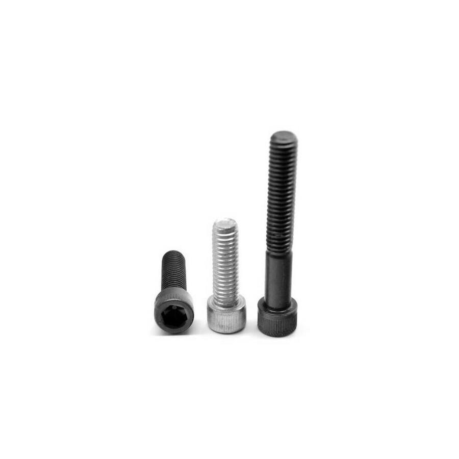 """#4-40 x 3//4/"""" 12.9 Steel Socket Head Cap Screws Black Oxide"""