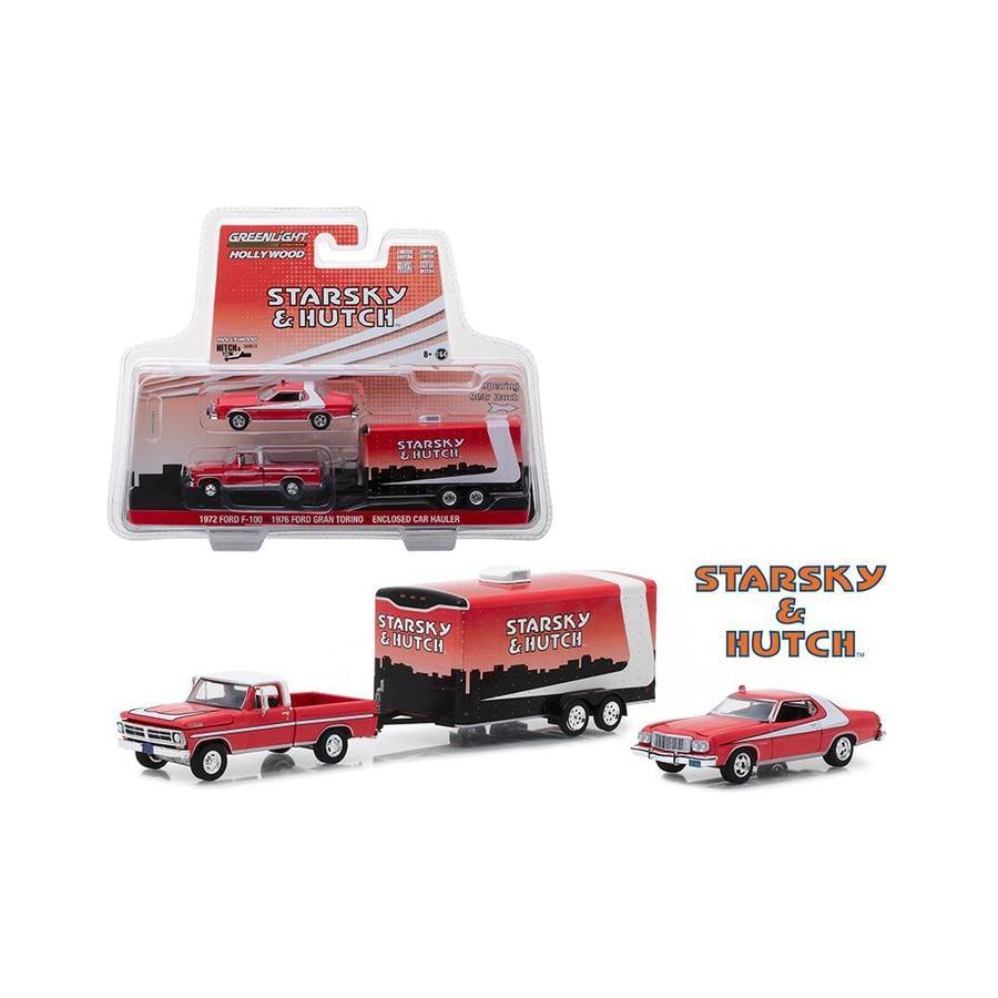 GREENLIGHT 31050A 1:64 HITCH /& TOW 1954 FORD F-100 /& 289 COBRA SET TRAILER CAR