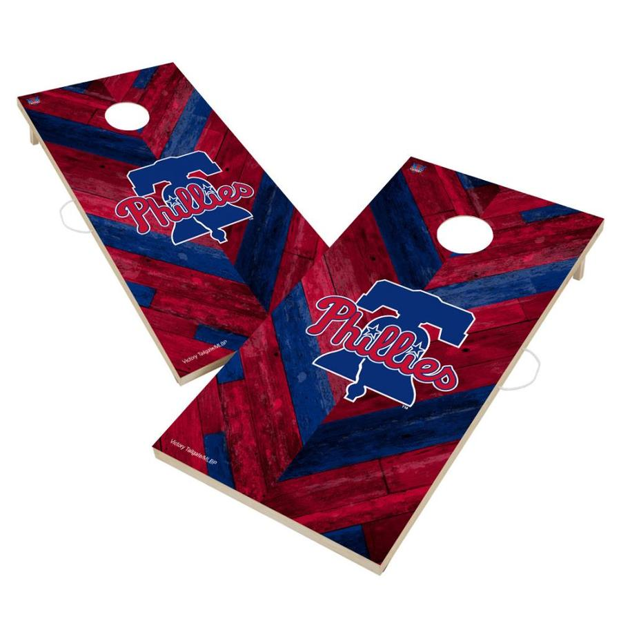 Victory Tailgate Duquesne University Dukes Baggo Bean Bag Toss Cornhole Game Homefield Design