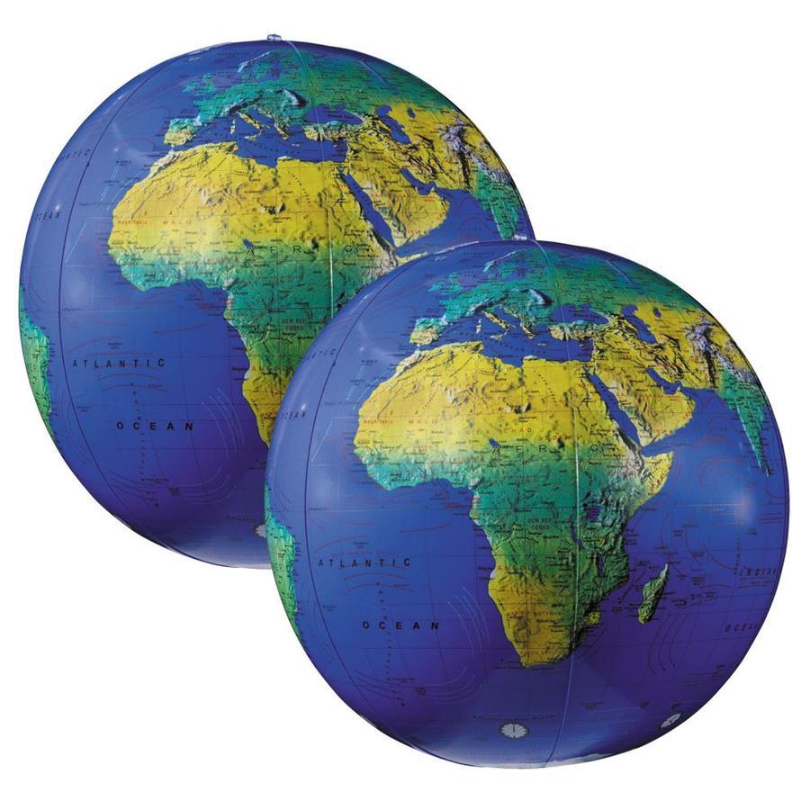 12-Inch Replogle Globes Traveler Globe Blue