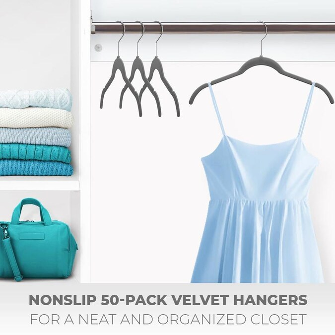 Color Blouses Aqua Shirts Dresses Suits Jackets T-Shirts Ideal for Everyday Standard Use Clothes Pack Plastic Eldorado Hangers for Adult Size Clothing 20 PCS.