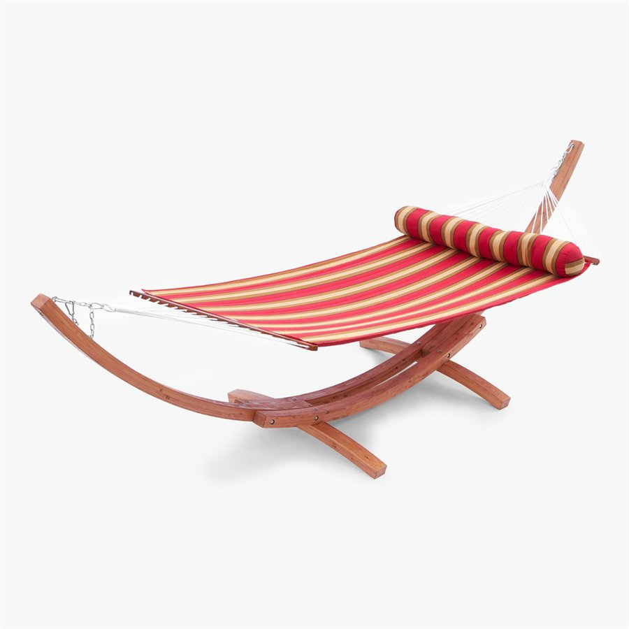 RST Brands Cantina Quilted Hammock with Stand