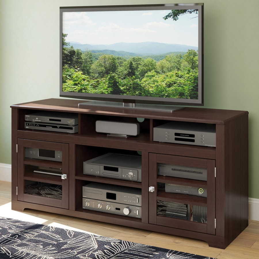 CorLiving West Lake Dark Espresso Rectangular Television Cabinet