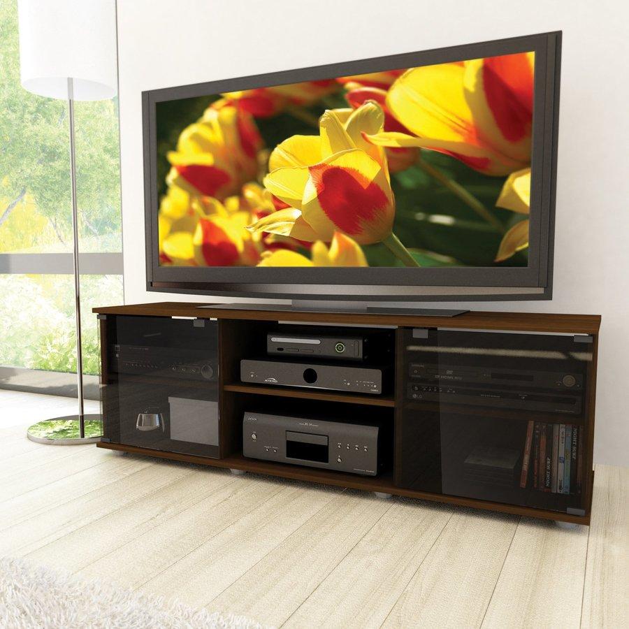 CorLiving Brown Rectangular Television Cabinet