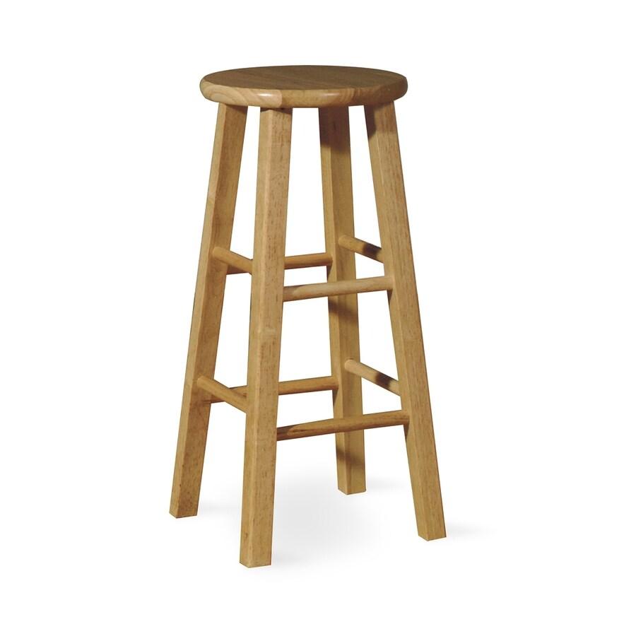 International Concepts Natural 24-in Counter Stool