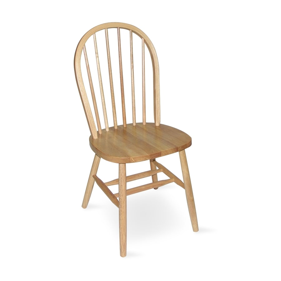 International Concepts Windsor Natural Side Chair