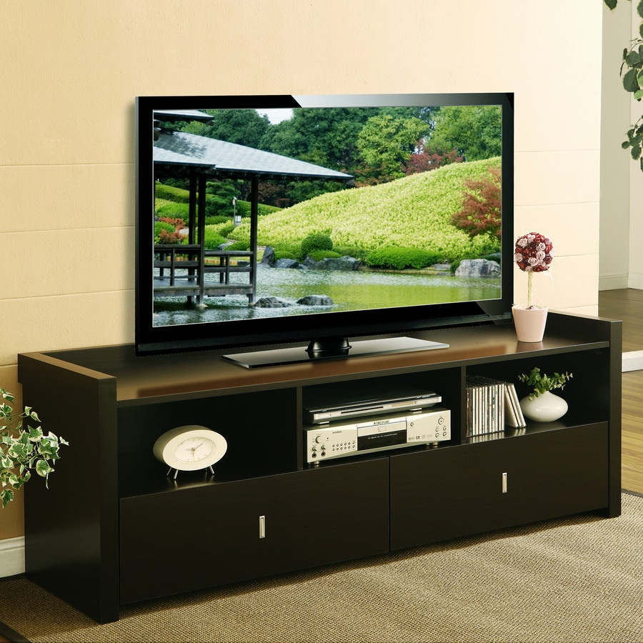 Enitial Lab Marco Cappuccino Rectangular Television Cabinet