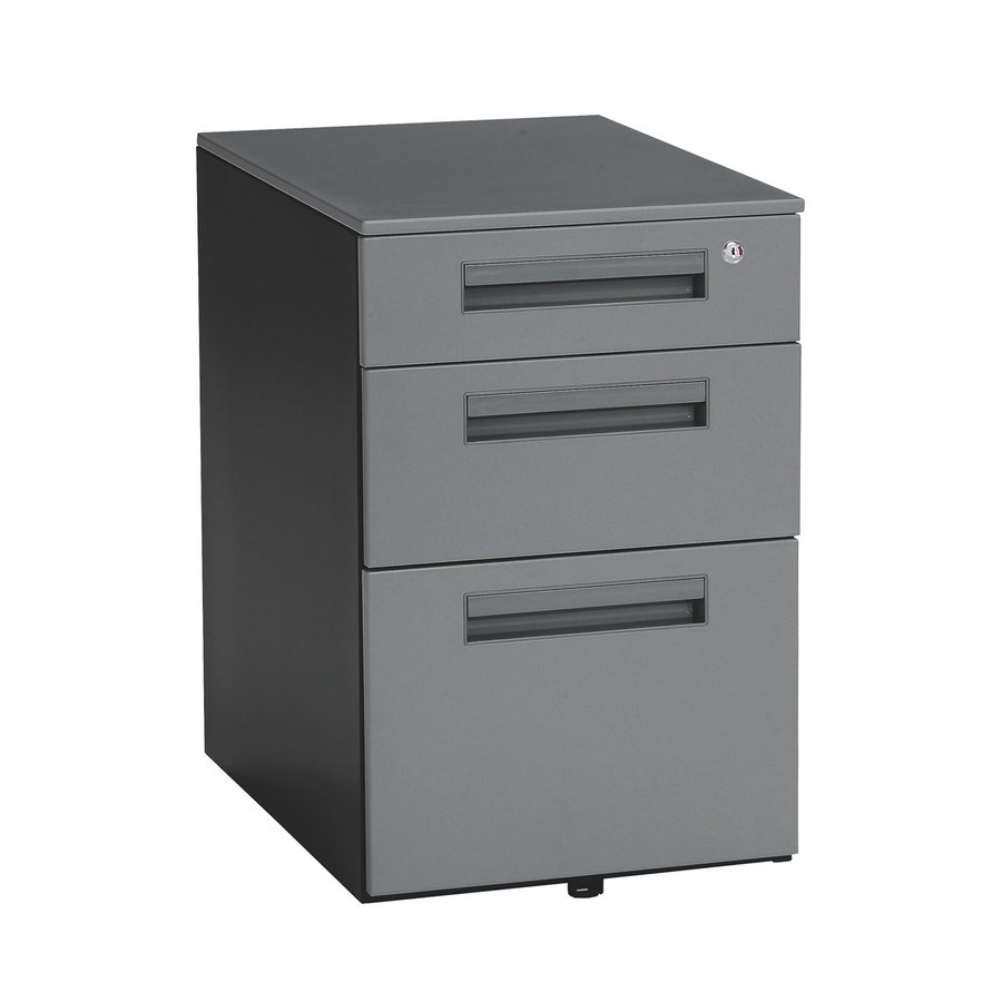 OFM Gray 3-Drawer File Cabinet