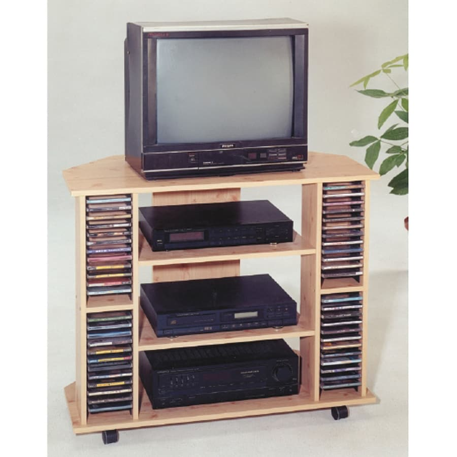 ORE International Natural Corner Television Cabinet