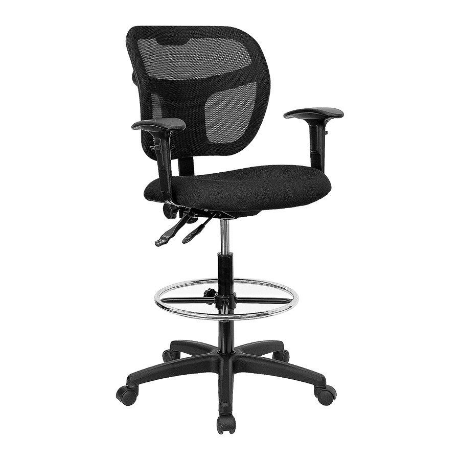 Flash Furniture Black Drafting Office Chair