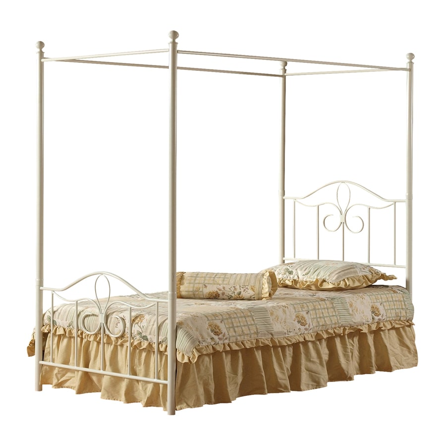Hillsdale Furniture Westfield Off White Twin Canopy Bed