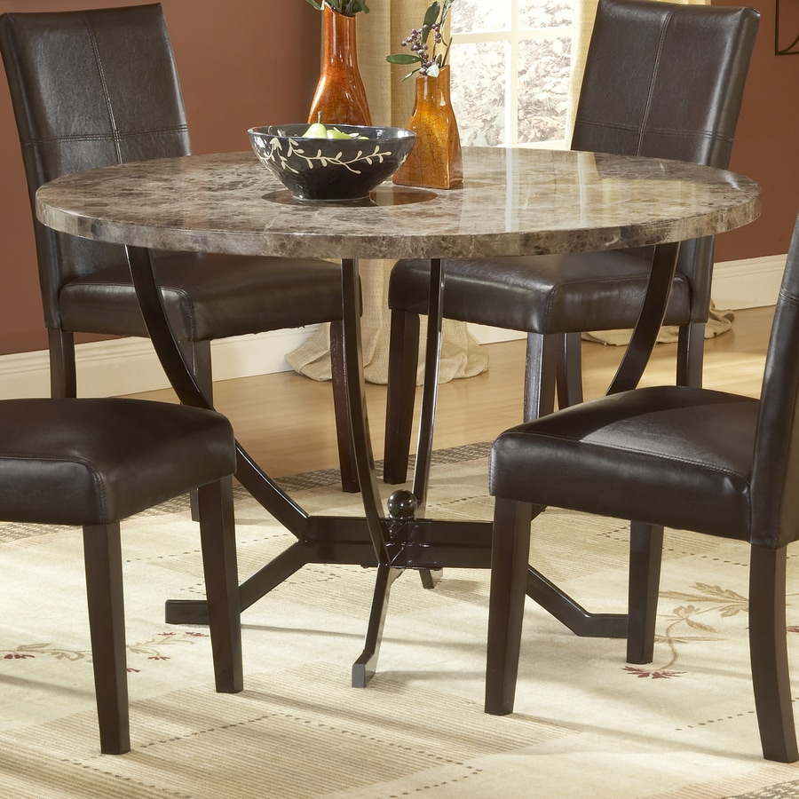 Hillsdale Furniture Monaco Matte Espresso Round Dining Table