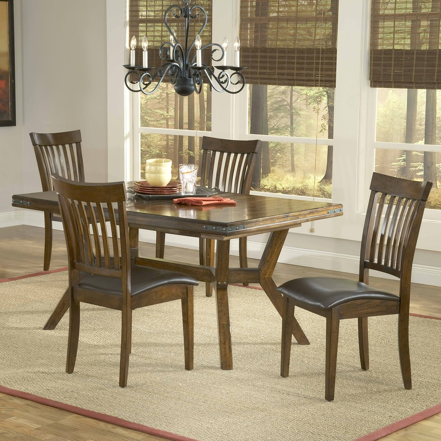 Hillsdale Furniture Arbor Hill Colonial Chestnut Dining Set