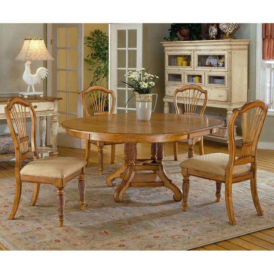 Shop Hillsdale Furniture Wilshire Antique Pine Dining Set At