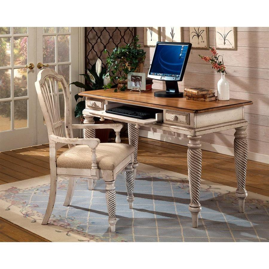 Hillsdale Furniture Wilshire Antique White Writing Desk