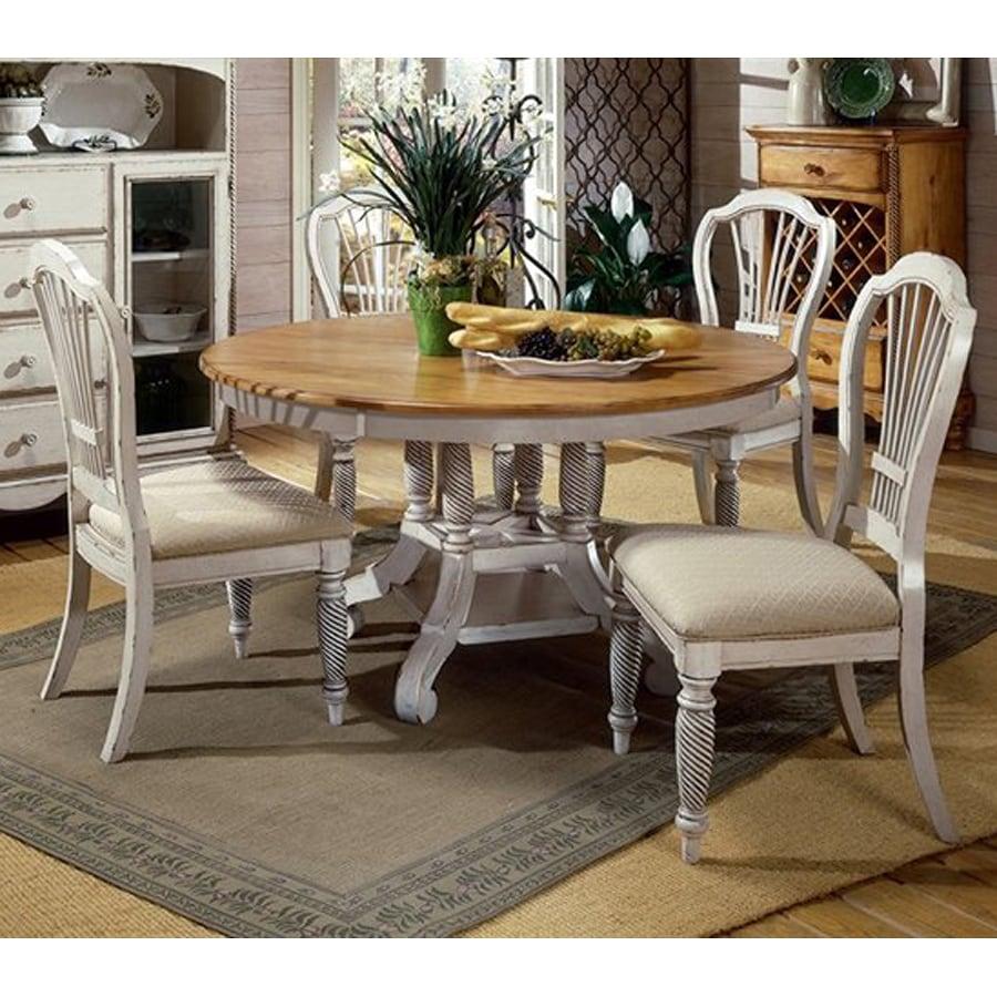 Hillsdale Furniture Wilshire Antique White Dining Set