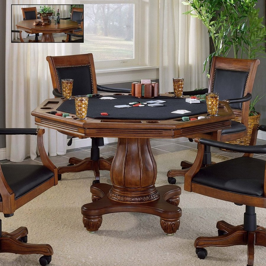 Shop hillsdale furniture kingston light cherry round wood for Furniture kingston