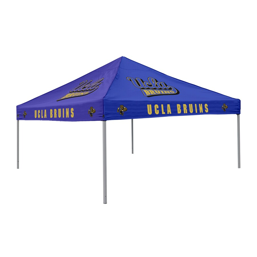 Logo Chairs Tailgating Tent 9-ft W x 9-ft L Square NCAA UCLA Bruins Steel Pop-Up Canopy