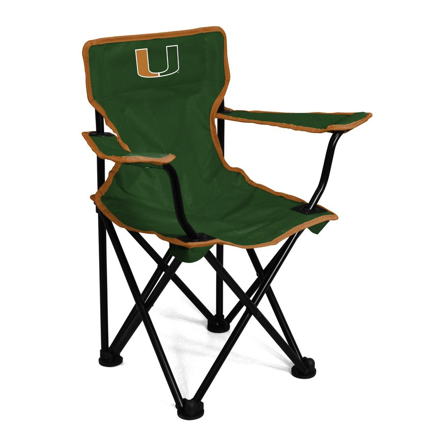 Logo Chairs Miami Hurricanes 21-in Kids Chair