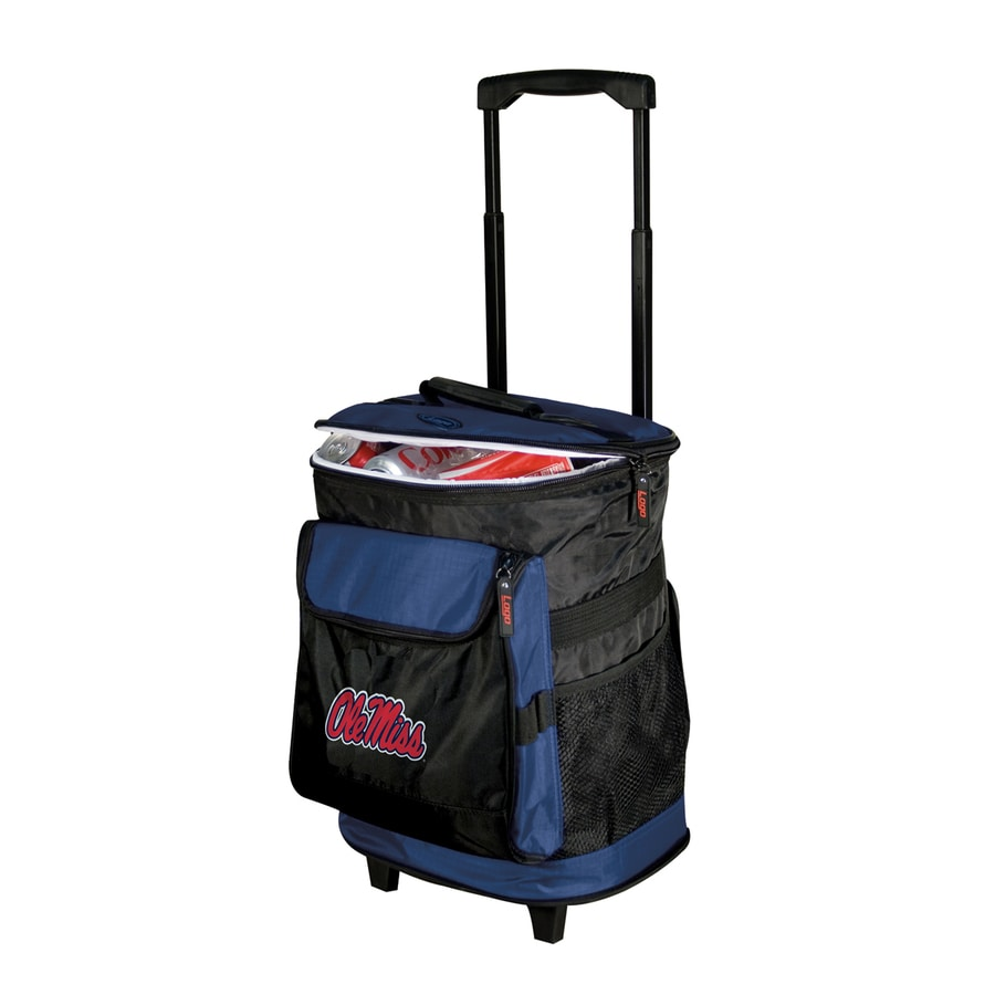Logo Chairs Ole Miss Rebels Wheeled Polyester Cooler