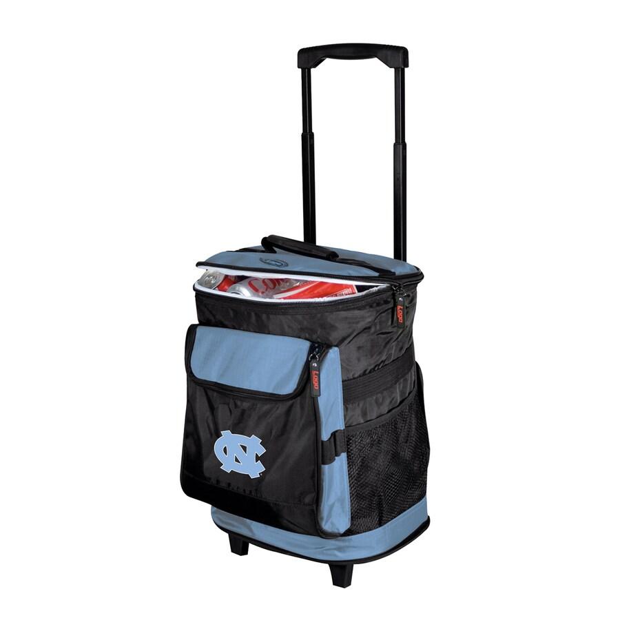 Logo Chairs North Carolina Tar Heels Wheeled Polyester Cooler