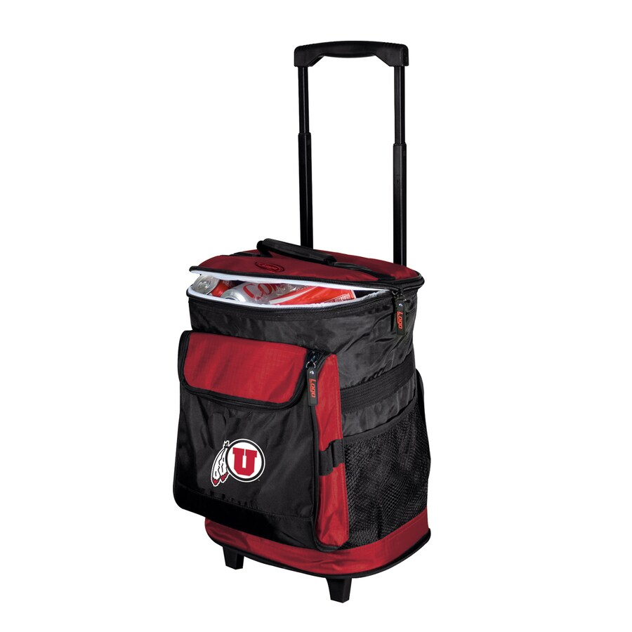 Logo Chairs Utah Utes Wheeled Polyester Cooler