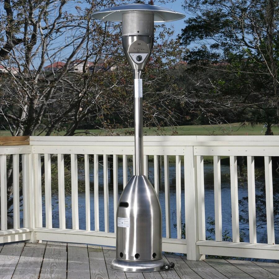 Fire Sense 47,000-BTU Stainless Steel Liquid Propane Patio Heater