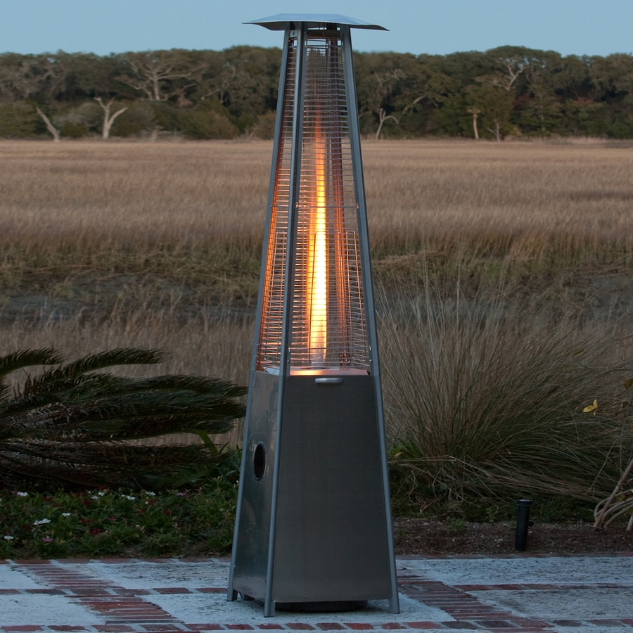 Fire Sense 4,0000-BTU Stainless Steel Liquid Propane Patio Heater