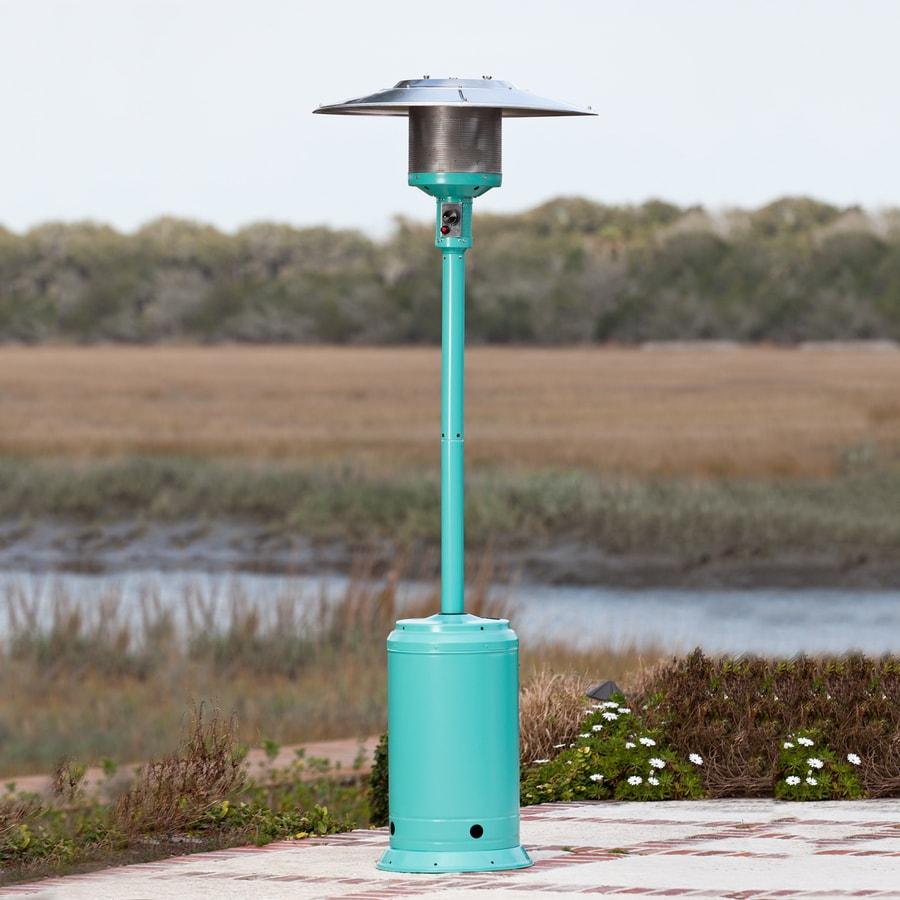 Fire Sense 46,000-BTU Aqua Blue Liquid Propane Patio Heater