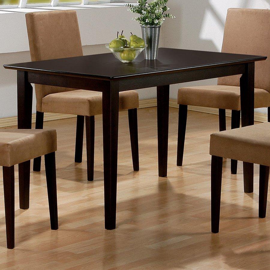Coaster Fine Furniture Cappuccino Rectangular Dining Table
