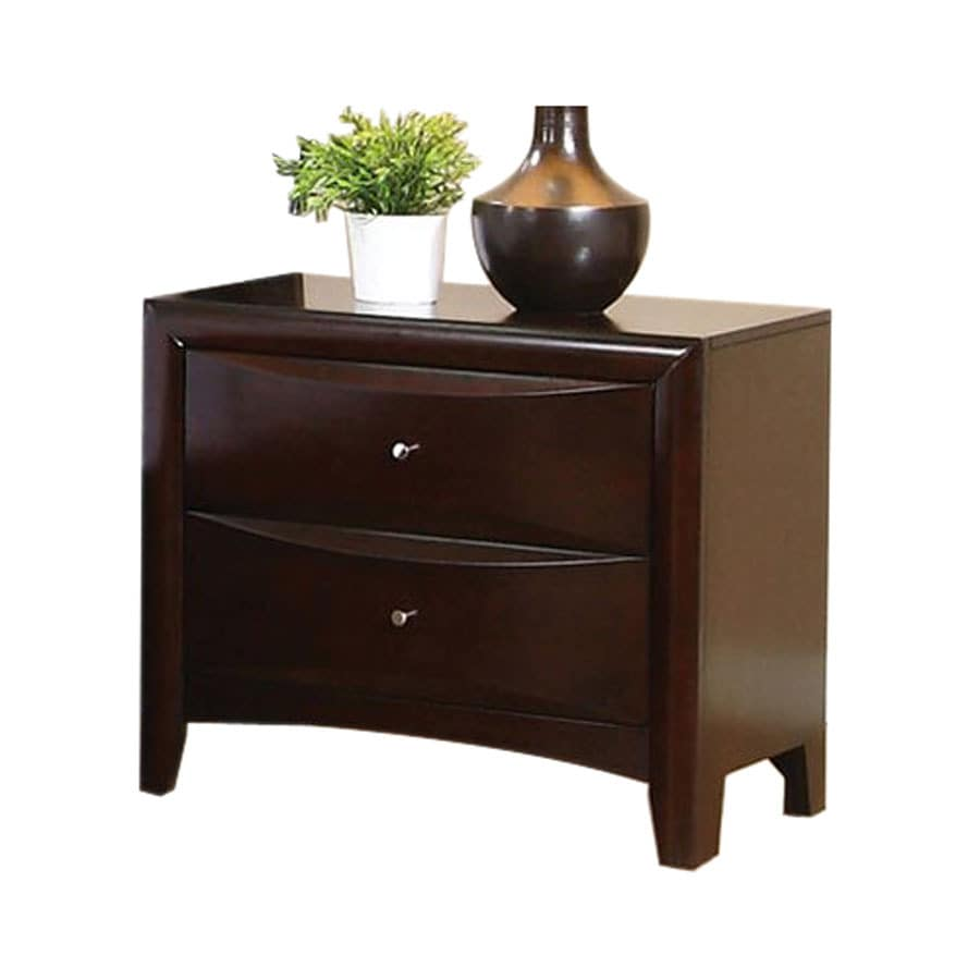 ... Fine Furniture Phoenix Cappuccino Maple Nightstand at Lowes.com