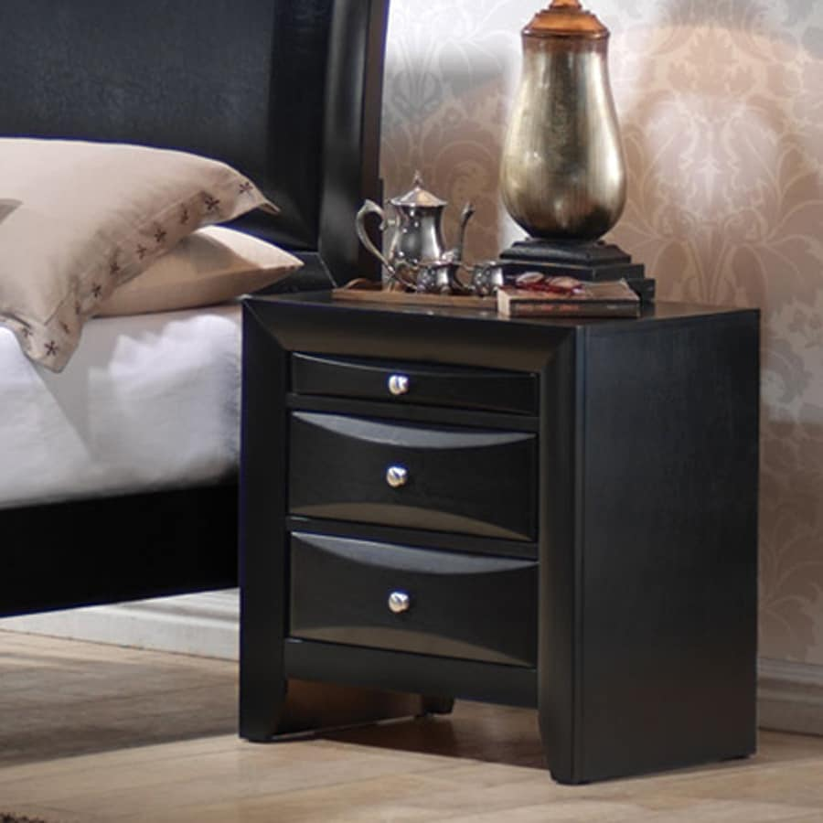 Coaster Fine Furniture Briana Black Nightstand