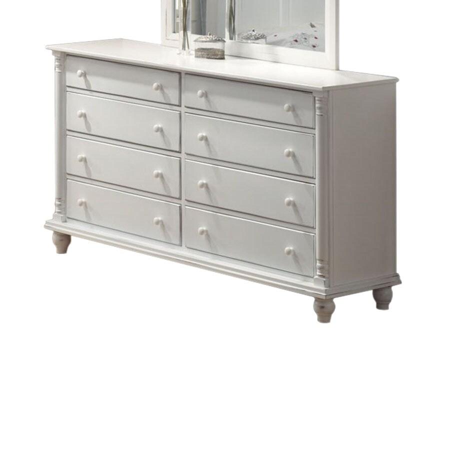 Coaster Fine Furniture Kayla White 8-Drawer Dresser