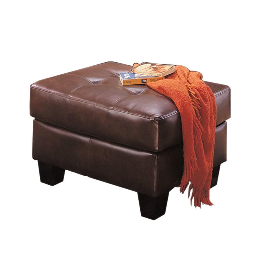Coaster Fine Furniture Samuel Dark Brown Rectangle Ottoman