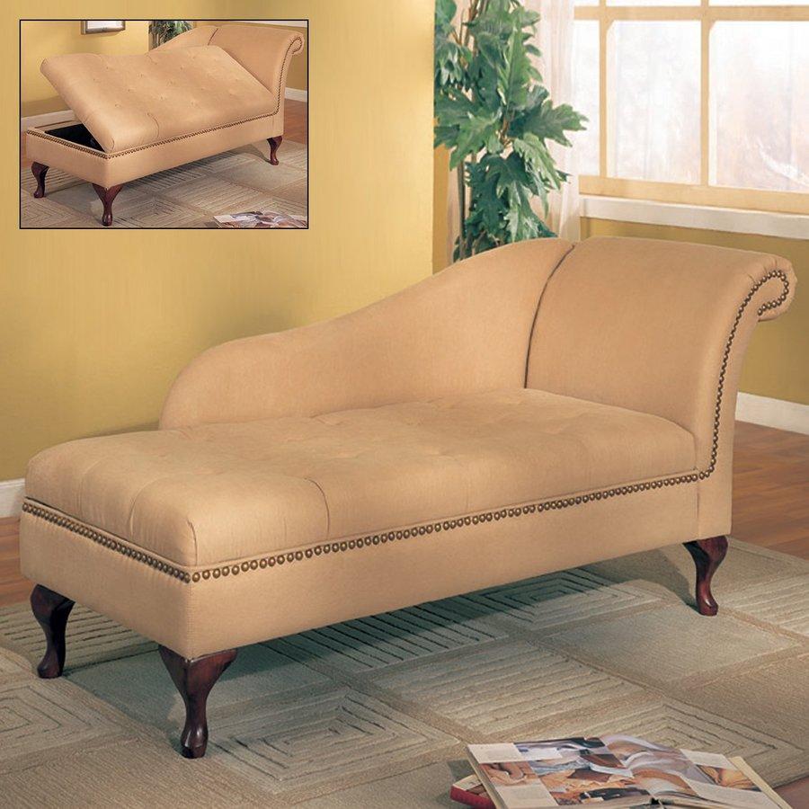 Coaster Fine Furniture Cherry Chaise