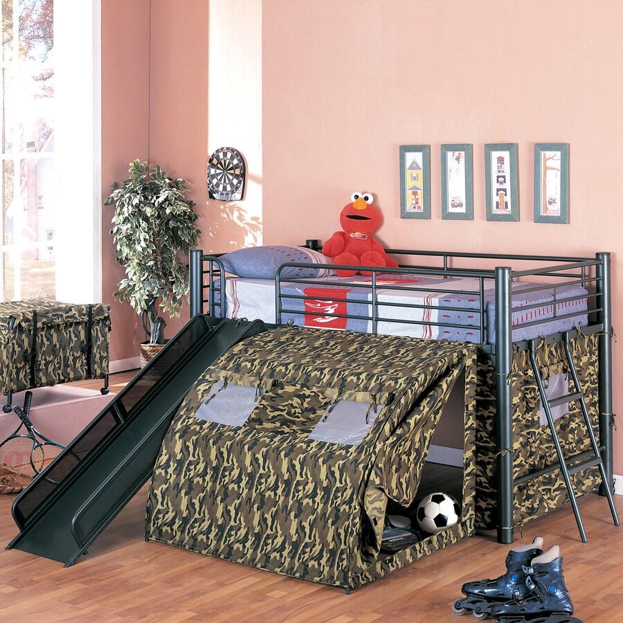 Coaster Fine Furniture Black Bunk Bed