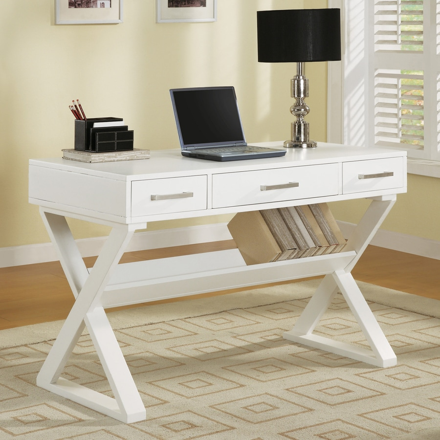 Shop Coaster Fine Furniture White Writing Desk At