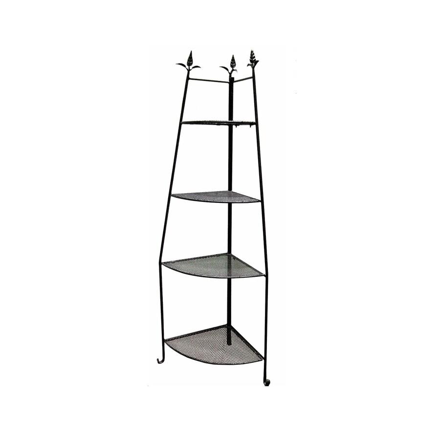 Corner Stand Designs : Shop achla designs in black indoor outdoor corner